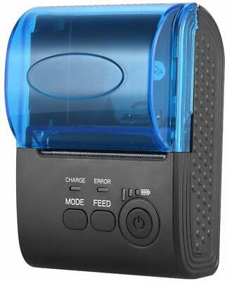 Portable Mini 58mm Wireless Usb Thermal Printer Receipt Ios Android Windows New
