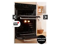Indesit Aria Built-In Double Electric Oven