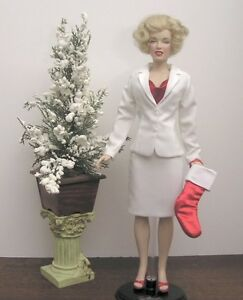 White suit doll clothes made for Franklin Mint vinyl Diana fit 15-16 inch dolls