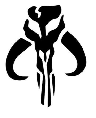 Home Decoration - Mythosaur Skull | Star Wars The Mandalorian | Vinyl DECAL Sticker