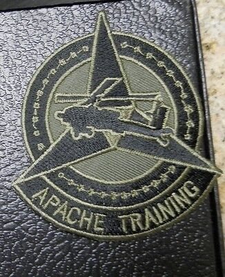 Army Patch Ssi  Iii Corps Fort Hood Texas  Apache Training Division  1980S