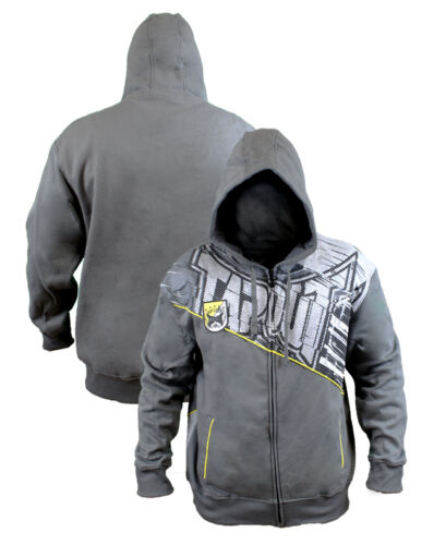 Tapout Grey Hoodie Simply Believe Sonnen Warrior Kimbo UFC MMA BJJ