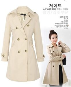 NEW-Womens-Double-breasted-Trench-Coat-Jacket-Fashion-Beautiful-BSA1016-40