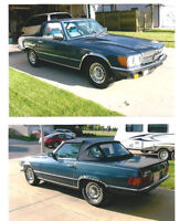 1984 Mercedes-Benz SL-500 Coupe 2-Tops, 2 door Mint! RARE!