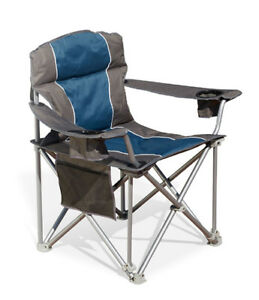 Heavy Duty Portable Camp Chair (up to 1000 pounds !)