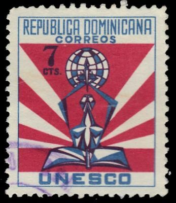 DOMINICAN REPUBLIC 506 - Opening of the Paris UNESCO Headquarters (pf38002)