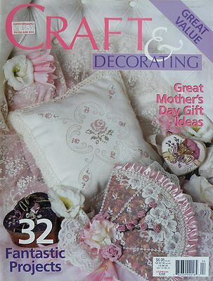 Craft & Decorating Magazine Vol 14 No 5 - Great Mother's Day Gift - Mother Day Craft Ideas
