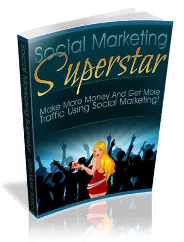 Social Marketing Superstar  PDF eBook with Full resale rights!