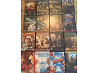 Assorted DVDs - Used