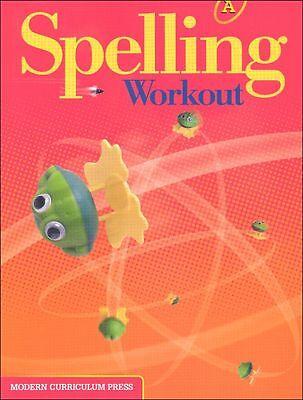 Grade 1 MCP Spelling Workout Level A Student Book 1st Modern Curriculum Press