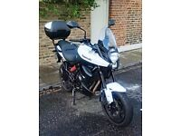 Kawasaki KLE Versys 650cc 2014 registered on 29/07/2014, in White H