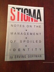Stigma - Erving Goffman London Ontario image 1