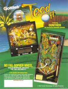 Gottlieb Tee'd Off Pinball machine