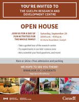 Guelph Research and Development Centre Open House