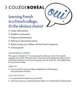 French as a Second Language Courses