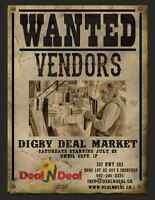 Still Looking for Vendors for the Digby Deal Market