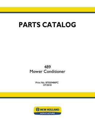 New Holland 489 Mower Conditioner Parts Catalog