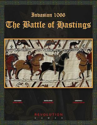 Revolution Wargames Invasion 1066: The Battle of Hastings NEW In Ziploc ](Revolution Game)