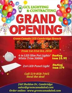 Green Canada LED New Branch Grand opening up to 50% Discount - October Hot sale starting from $ 8.99
