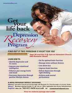 Depression Recovery program in a group setting Peterborough Peterborough Area image 1