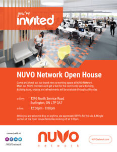 Nuvo Network Open House