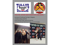 BOXING AND THAI BOXING TRAINING IN EDGWARE