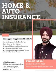 BEST CAR INSURANCE || SAVE UPTO 60% || NEW HIGH RISK DRIVERS