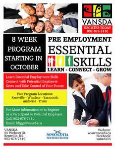 Pre Employment Essential Skills Training Program