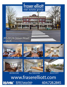 1 bedroom home in highly desirable Fort Langley!
