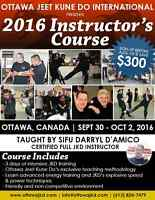 Instructor Certification Course - Jeet Kune Do