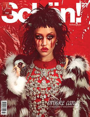 Schon Schön Magazine 27,Brooke Candy,Nicola Formichetti NEW