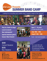 Sherwood Studio's Summer Band Camps