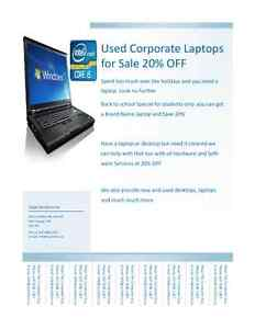 Laptop, Student Special All Brands 20% OFF