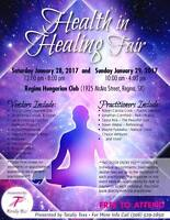Health in Healing Fair Regina 2 Day Event
