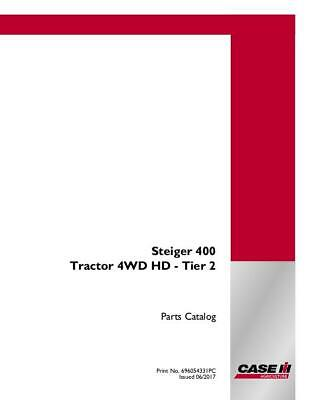 Case Ih Steiger 400 Tractor 4wd Hd Tier 2 Parts Catalog