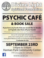 PSYCHIC READINGS and book sale!