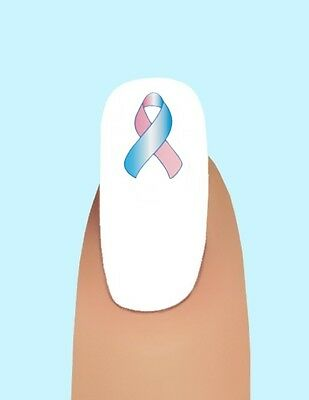 24 Pregnancy and Infant loss Awareness Ribbon #1 Waterslide Nail Art #362](Pregnancy And Infant Loss Ribbon)
