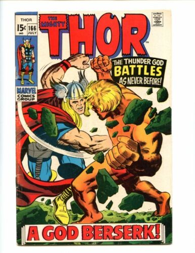 Thor 166 Second Adam Warlock! Affordable Lee/Kirby goodness