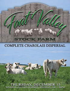 Foat Valley Stock Farm Complete Charolais Dispersal