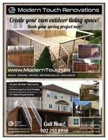 Decks • Fences • Patios • Garages • Pergolas  book now