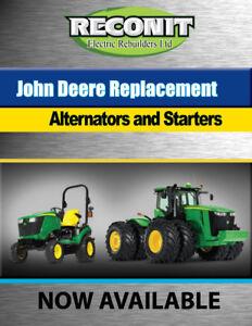 John Deere Farm Tractor Starter - NEW