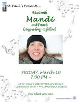 St. Paul's Present... Music with Mandi and Friends