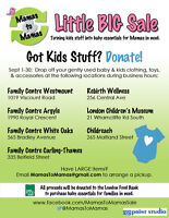 Mamas to Mamas - looking for your gently used kids stuff!
