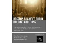 Brixton Chamber Choir Holding Auditions