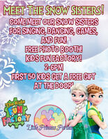 Come Play with Elsa and Anna! Little Princess Parties- Kids Fun