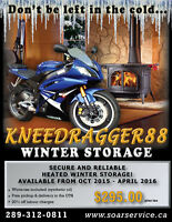 Full Service Motorcycle Storage/ Pick up and delivery included!