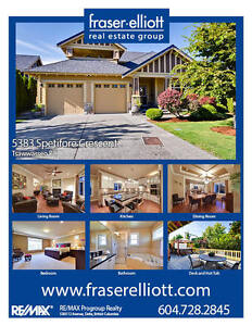 Incredible luxury home on Tsawwassen's sought-after Spetifore!