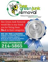 BEE GREEN JUNK REMOVAL FAST SERVICE CALL 506-214-5865