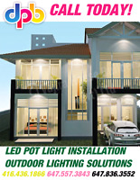 LED POT LIGHT INSTALLATION Cambridge N1P 0A8