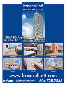 Delta's only high-rise with one of a kind unobstructed views!